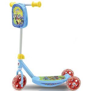 Трехколесный самокат  Микки и Весёлые гонки Disney. Цвет: разноцветный