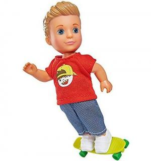 Кукла  Еви Тимми - скейтбордист 12 см Simba