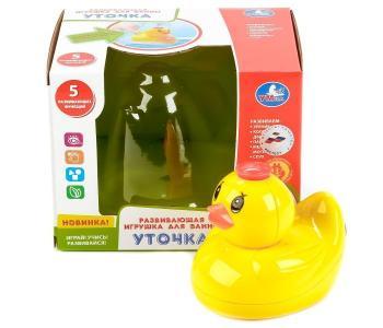 Развивающая игрушка для ванны Уточка Умка