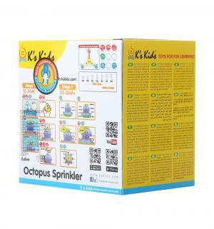 Игрушка для ванной Ks Kids Осьминожка Клёпа K's