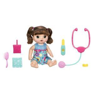 Интерактивная кукла Baby Alive Малышка у врача Шатенка Hasbro
