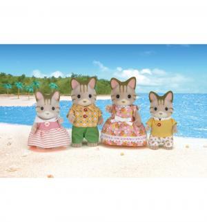 Игровой набор  Семья полосатых кошек Sylvanian Families