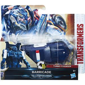 Фигурка Трансформеры 5: Уан-Степ - Баррикейд, 10 см Hasbro