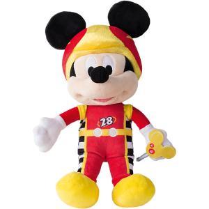 Disney Мягкая игрушка Микки и весёлые гонки: Маус (34 см, звук, музыка) IMC Toys
