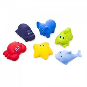 Набор игрушек для ванной Веселое купание 6 шт. Fancy Baby