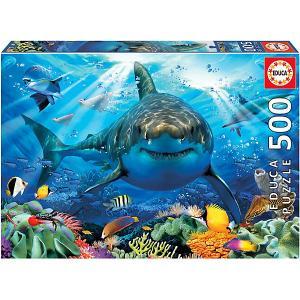 Пазл 500 деталей Большая белая акула Educa