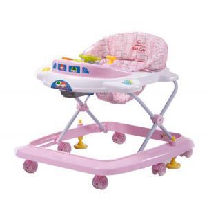 Ходунки BabyCare Tom&Mary, цвет: розовый Baby Care