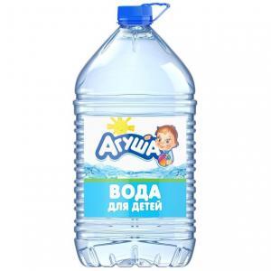 Вода  Детская питьевая природная негазированная, 5 л, 1 шт Агуша