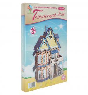 Сборная деревянная модель  Готический дом Wooden Toys