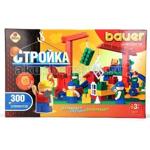Конструктор Bauer Стройка 300 деталей Кроха