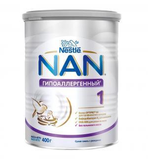 Молочная смесь  1 Гипоаллергенный 0-6 месяцев, 400 г Nan