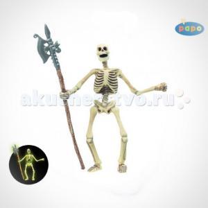 Игровая фигурка Скелет (светится в темноте) Papo