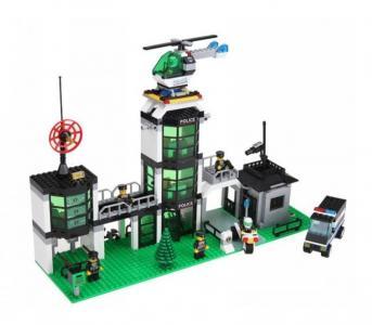 Полицейский участок (466 деталей) Enlighten Brick
