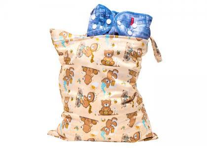 Непромокаемая сумка Медвежонок GlorYes