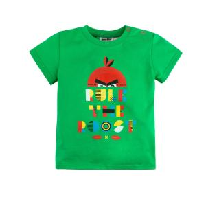 Футболка  Angry Birds, цвет: зеленый Bossa Nova
