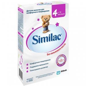 Молочко детское  4 с 18 месяцев, 350 г Similac
