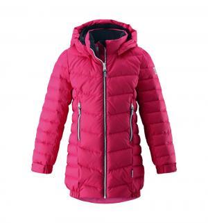 Куртка  Juuri, цвет: розовый Reima