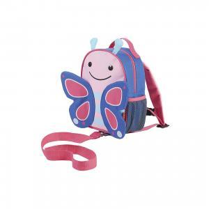 Рюкзак детский с поводком Бабочка, Skip Hop