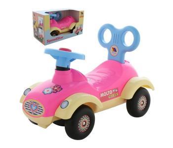 Каталка  Автомобиль для девочек Сабрина в коробке Molto