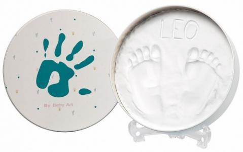Коробочка для создания детского отпечатка Мэджик бокс круглая 16.5 см Baby Art