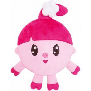 Игрушка-грелка  Малышарики: Нюшенька с вишневыми косточками Мякиши. Цвет: розовый