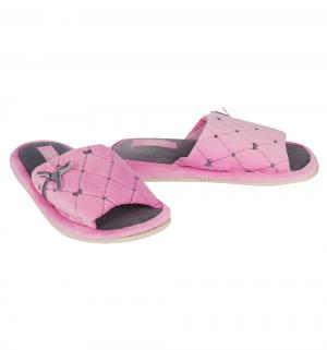 Тапочки , цвет: розовый Effa