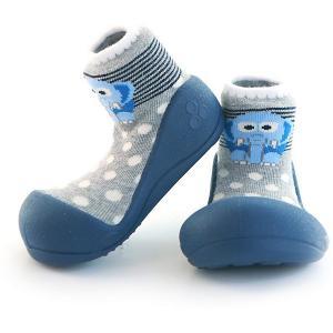 Тапочки  ZOO для мальчика Attipas. Цвет: синий