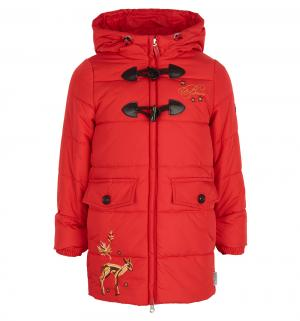 Пальто , цвет: красный Boom