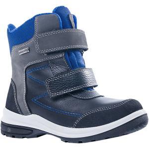 Утеплённые ботинки Котофей. Цвет: синий