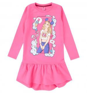 Платье  Pop Art, цвет: розовый Free Age