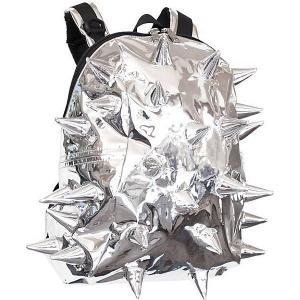 Рюкзак  Rex Half Spike Chrome, серебристый MadPax. Цвет: серебряный