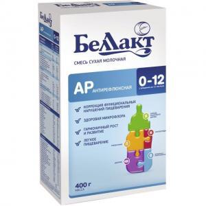 Молочная смесь  АР на коровьем молоке 0-12 месяцев, 400 г Беллакт