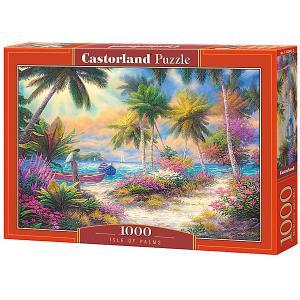 Пазл  Остров пальм 1000 деталей Castorland