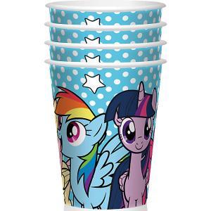 Набор стаканов для праздника My Little Pony Вместе веселее 4шт. Daisy Design