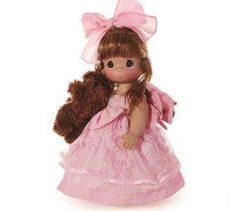 Кукла Сны о плюшевом медведе рыжая 30 см Precious