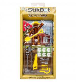 Фигурка  Прически цвет: коричневый Stikbot