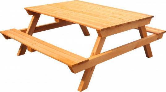 Стол-скамейка Р943.1 Можга (Красная Звезда)
