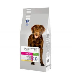 Полнорационный сухой корм  для взрослых собак средних и крупных пород, курица, 14.5кг Perfect Fit