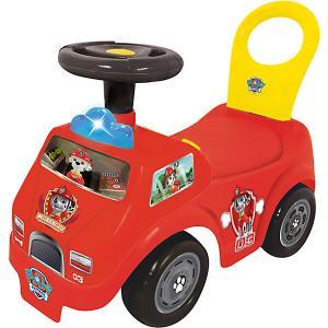 Каталка - пожарная машина  Маршалл спасатель Kiddieland. Цвет: красный