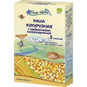 Каша  кукурузная с пребиотиками гипоаллергенная, 5 мес Fleur Alpine
