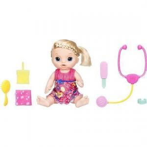 Кукла  Малышка у врача со светом и звуком (пьет писает плачет) 36.5 см Baby Alive