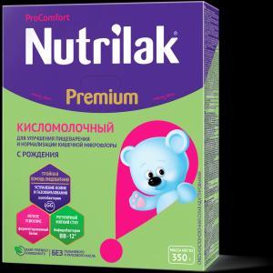 Молочная смесь  Premium кисломолочная С 0 месяцев, 350 г Nutrilak