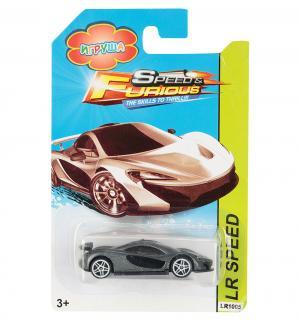 Машинка  Hot Speed серая 7 см Игруша