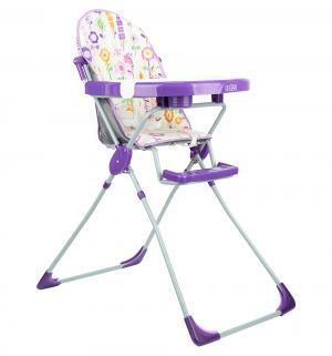 Стульчик для кормления  252, цвет: яркий луг/фиолетовый Selby
