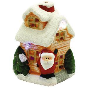 Новогодний керамический домик  Свет волшебства GLOS. Цвет: разноцветный