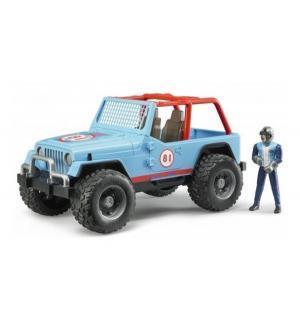 Внедорожник  Jeep Cross Counrty Racer синий Bruder