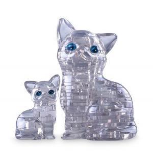 Головоломка 3D  Кошка серебристая цвет: прозрачный Crystal Puzzle