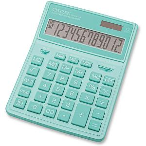 Калькулятор настольный  SDC-444XRGNE Citizen. Цвет: weiß/beige