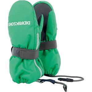 Варежки DIDRIKSONS Biggles Zip DIDRIKSONS1913. Цвет: зеленый