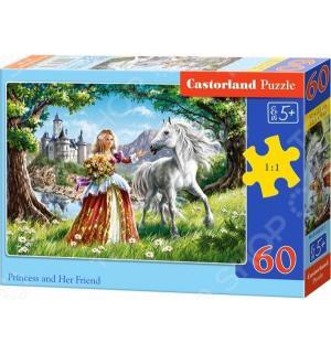 Пазл  Принцесса 60 шт. Castorland